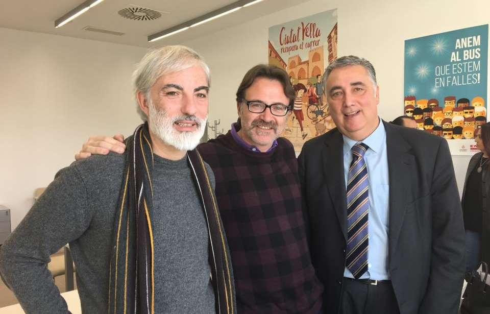 Reunión Ayuntamiento de Valencia para estudiar las dificultades del transporte