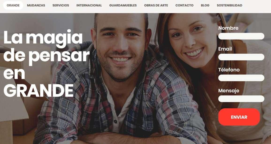 ¡Estrenamos la nueva web de Mudanzas Grande!